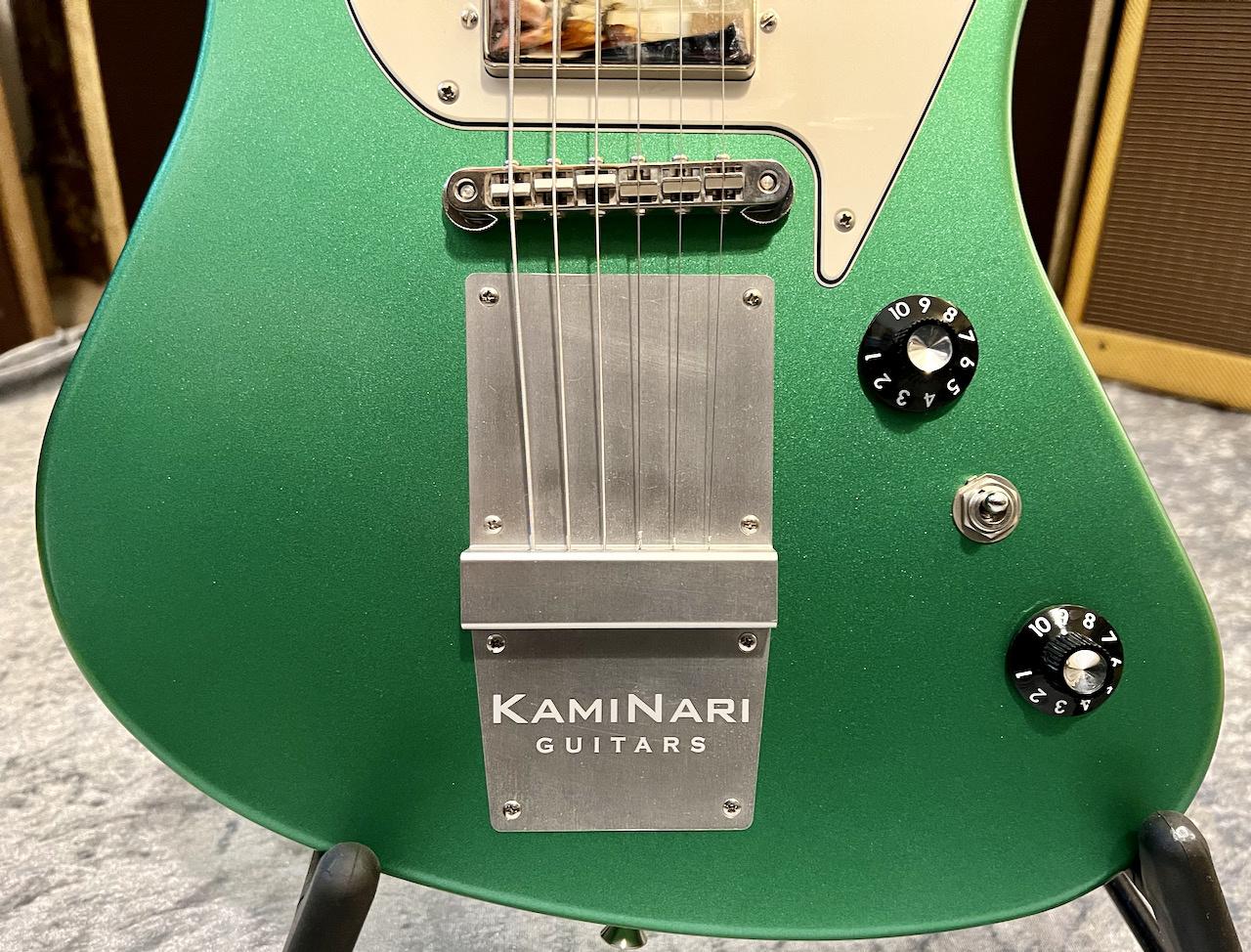 Kaminari Kaminari History Cygnet Incl. Gigbag Apple Green Metallic, DiMarzio Pups