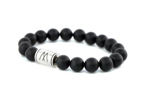 Prestige Black Bracelet - Silver Black Onyx