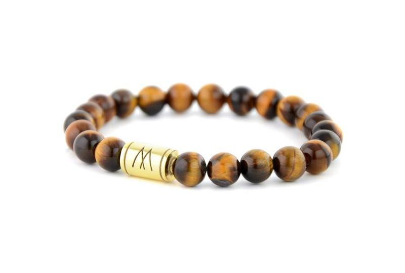 Brown Bracelet - Gold Brown Tiger Eye