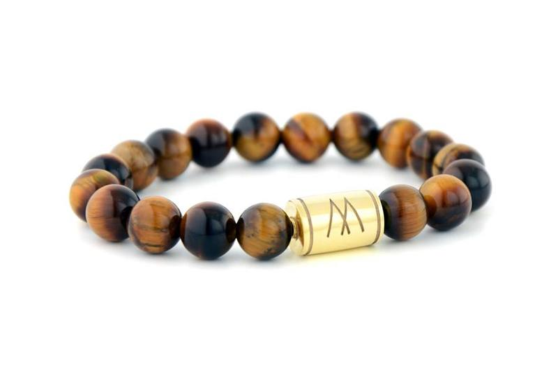 Brown Bracelet - Brown Tiger Eye