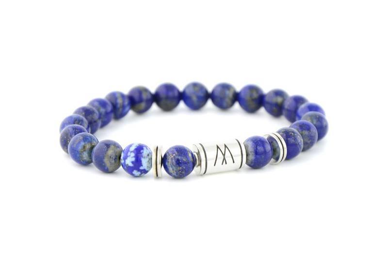 Blue Bracelet - Twin Silver Lapis Lazuli