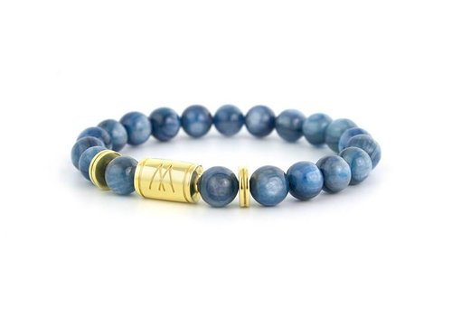 Limited Edition Blue Bracelet - Twin Gold Kyanite