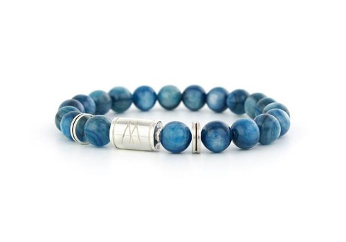 Limited Edition Blue Bracelet - Twin Silver Kyanite