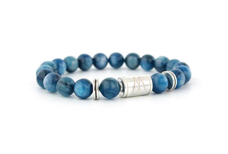Blue Bracelet - Twin Silver Kyanite