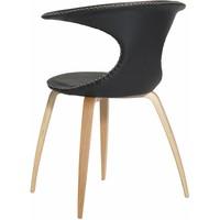 Flair stoel zwart / eiken - Dan-Form