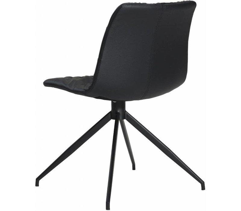 Dazz stoel zwart / zwart