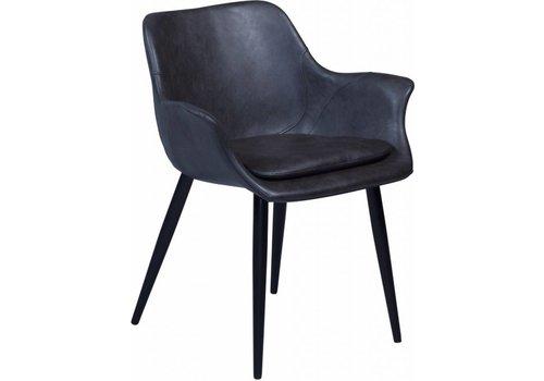 DAN-FORM Combino stoel met armleuning grijs