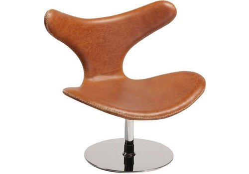 Dolphin lounge chair bruin
