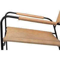 Paz fauteuil bruin leer