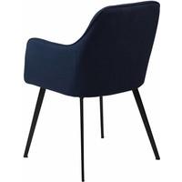Embrace stoel blauw stof