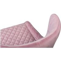 Vetro Stoel Roze Fluweel