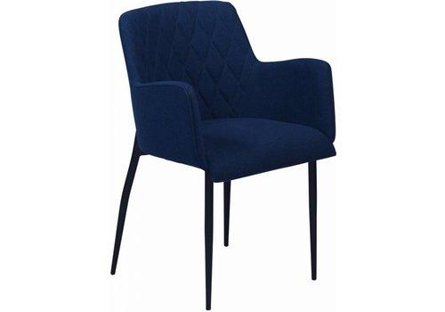 DAN-FORM Rombo stoel blauw stof