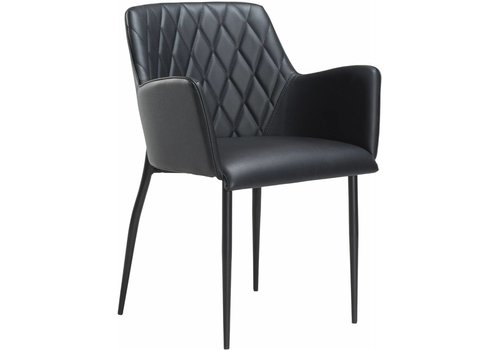 DAN-FORM Rombo stoel zwart