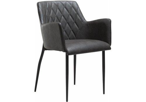 DAN-FORM Rombo stoel vintage grijs