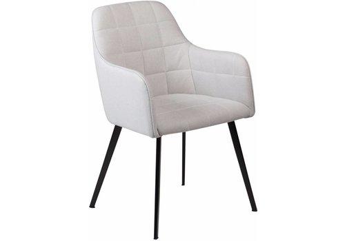 DAN-FORM Embrace stoel grijs stof