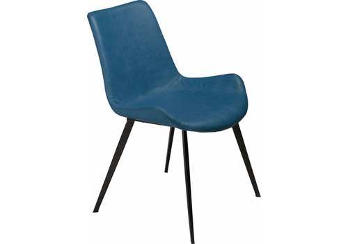 DAN-FORM Hype stoel PU blauw