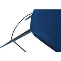 Hype barkruk blauw stof
