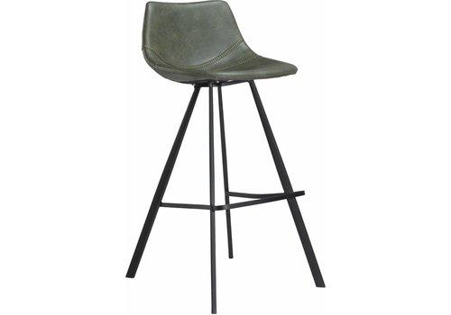 DAN-FORM Pitch barkruk vintage groen / zwart