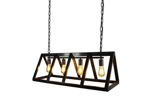 LABEL51 Hanglamp Roof Zwart Metaal