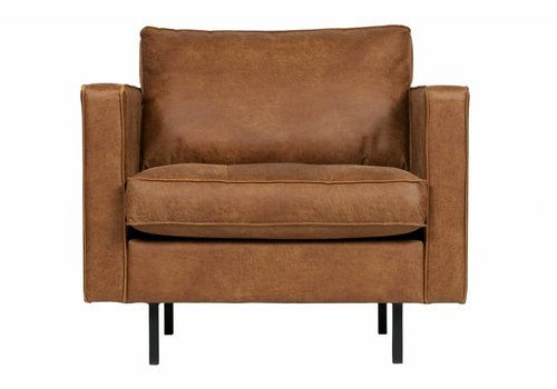 BepureHome Rodeo Classic Fauteuil Cognac