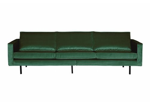 BepureHome Rodeo Bank 3-zits Velvet Green Forest