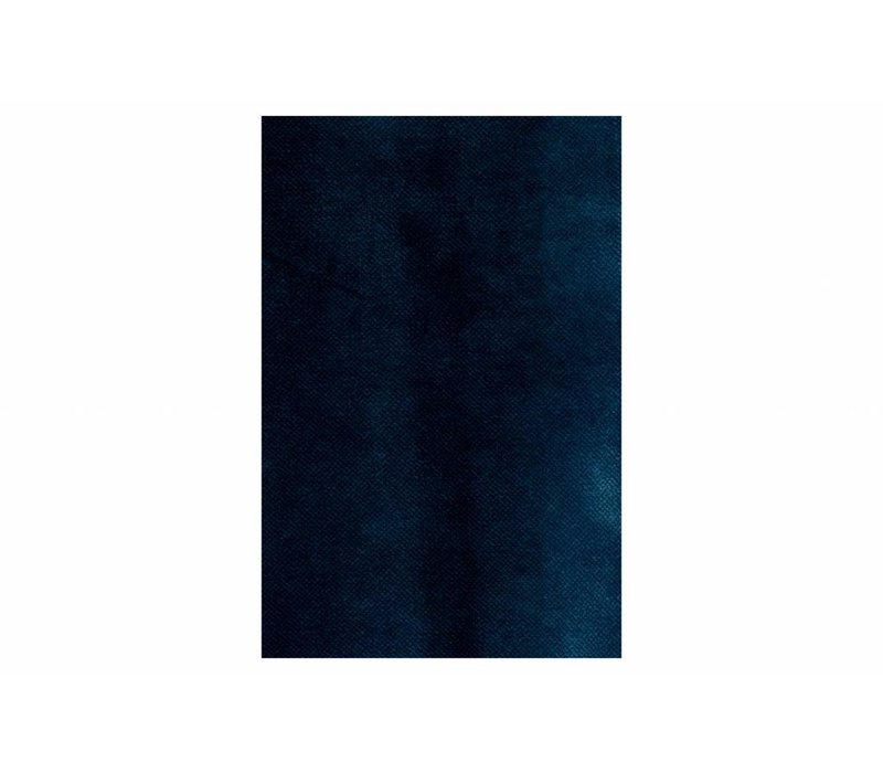 Rodeo Daybed Left Velvet Dark Blue Nightshade