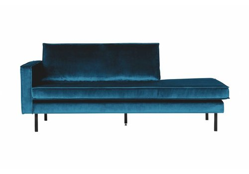 BepureHome Rodeo Daybed Left  Velvet Blue