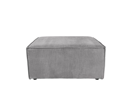 Zuiver James Sofa  Hocker Koelgrijs