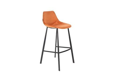 Dutchbone Franky Barkruk Oranje