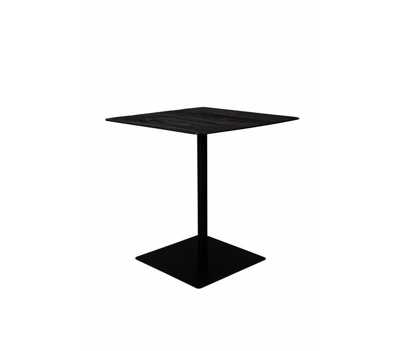 Braza Bistro Tafel Vierkant Zwart