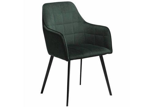 DAN-FORM Embrace stoel Groen Fluweel