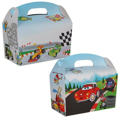 Lunchbox / Schlemmerbox Car 100Stk. €0,34p.Stk. /  Beim Kauf von 300Stk. €0,28 pro Stück