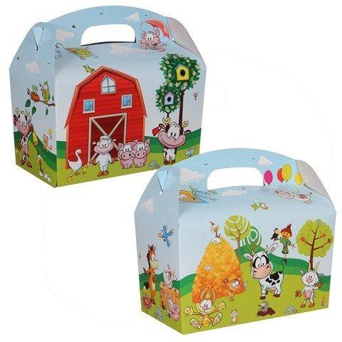 Lunchbox Bauernhof 100Stk. €0,34p.Stk./ Beim Kauf von 300Stk. €0,28 pro Stück