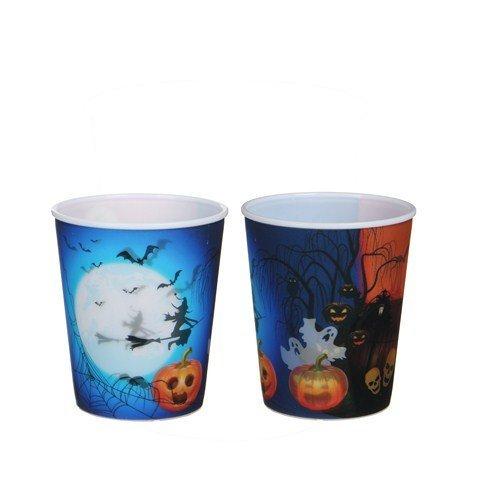 Trinkbecher Halloween ohne Deckel und Strohhalm 100Stk. €0,39p.Stk. / Beim Kauf von 500Stk. €0,37p.Stk.