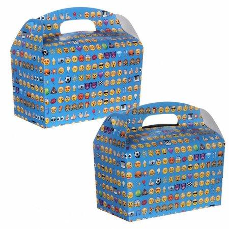 Lunchbox mit Trinkbecher Emoji 100Stk €0,70p.Stk. / Beim Kauf von 300Stk. €0,63 pro Stück