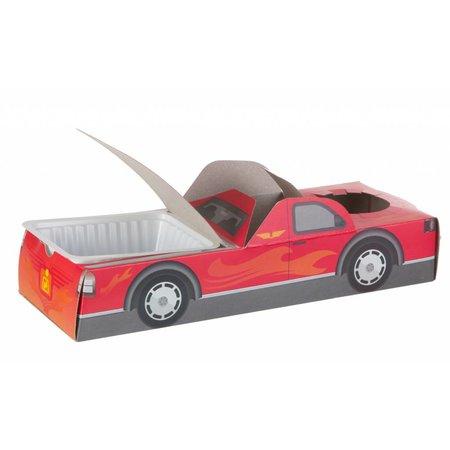 Offene Lunchbox Rennwagen 100Stk. €0,38p.Stk. / Beim Kauf von 300Stk. €0,34p.Stk.