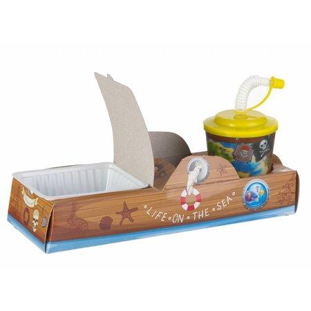 Offene Lunchbox Boot 100Stk. €0,38p.Stk. / Beim Kauf von 300Stk. €0,34p.Stk.