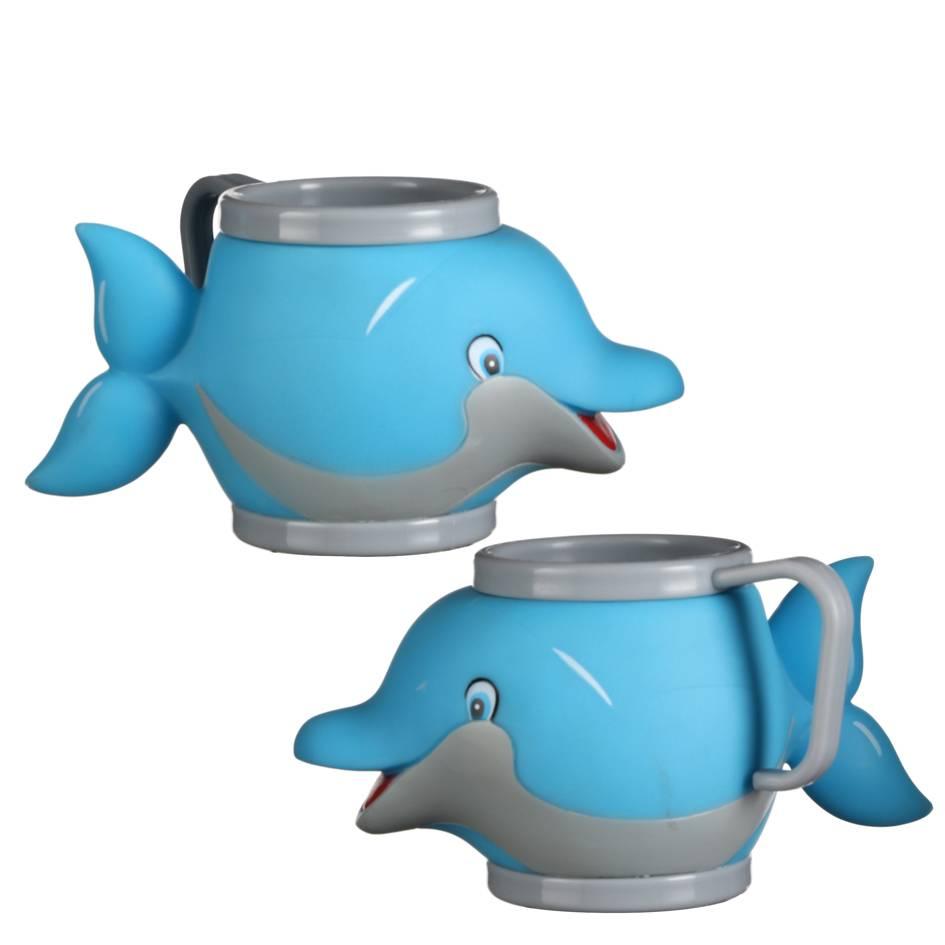 Eisbecher mit Henkel Delfin 36Stk.