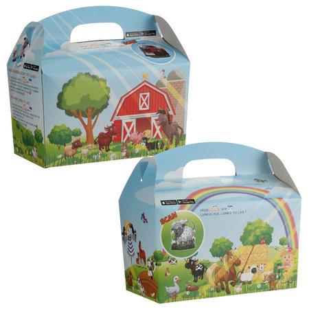 Interaktive box Mix ZOO/Ozean/Bauernhof+3D Trinkbecher 300Stk.