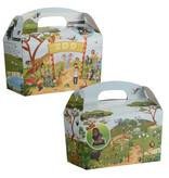Interaktive Lunchbox mit Trinkbecher ZOO 100Stk €0,76 p.Stk. / Beim Kauf von 300Stk. €0,68 pro Stück