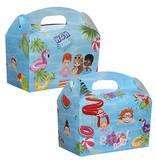 Lunchbox mit Trinkbecher PoolParty 100Stk €0,70p.Stk. / Beim Kauf von 300Stk. €0,63 pro Stück