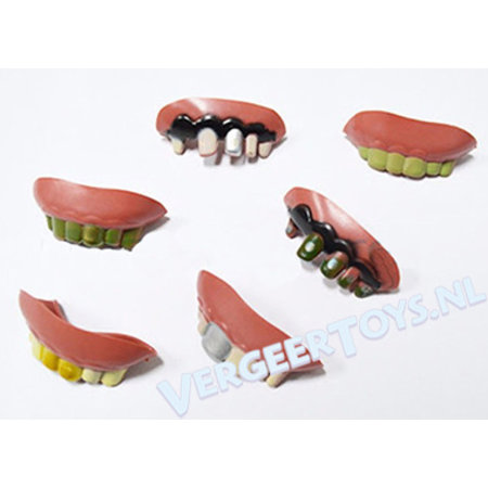 Lustige Zähne 24St