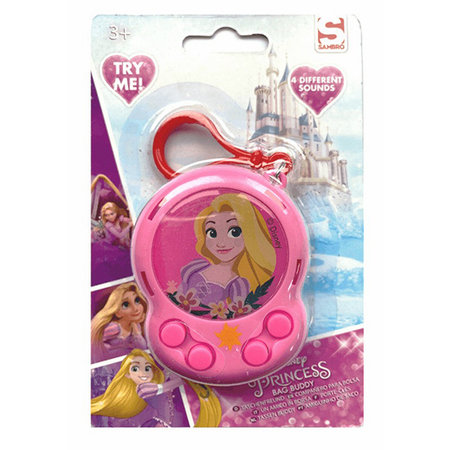 Disney Princess Buddy-Clip/Bag Buddy mit 4 Töne 16Stk.