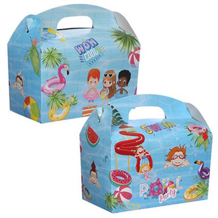 Lunchbox PoolParty 100Stk. €0,34p.Stk. / Beim Kauf von 300Stk. €0,28 pro Stück