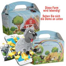 Interaktive Bauernhof Lunchbox 100Stk.
