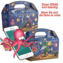 Interaktive Ozean Lunchbox 100Stk.