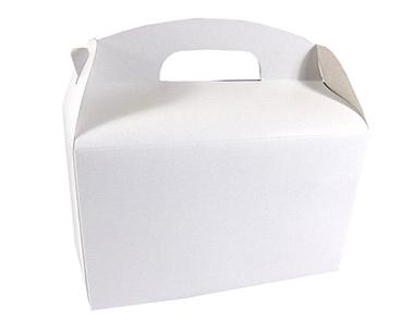 Lunchbox Lunchbox leer / weiß 100Stk. €0,34p.Stk. / Beim Kauf von 300Stk. €0,28 pro Stück