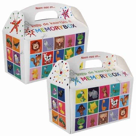 Menübox für Kinder Memory 100Stk. €0,34p.Stk. / Beim Kauf von 300Stk. €0,28 pro Stück