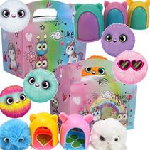Menübox Dreamgirls mit Cuty Cuty Plüsch 50Stk.