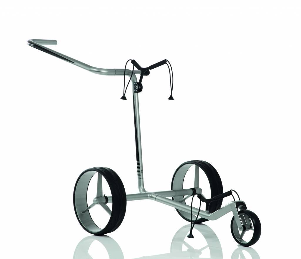 JuCad Carbon 3-Rad (Schwarz-Silber)
